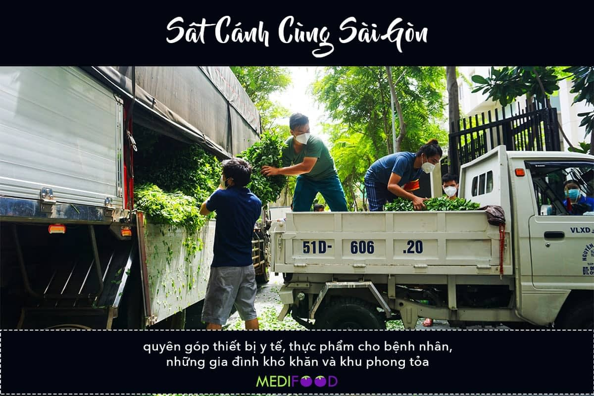 MEDIFOOD.IO - Sat Canh Cung Saigon - Final Food Drop