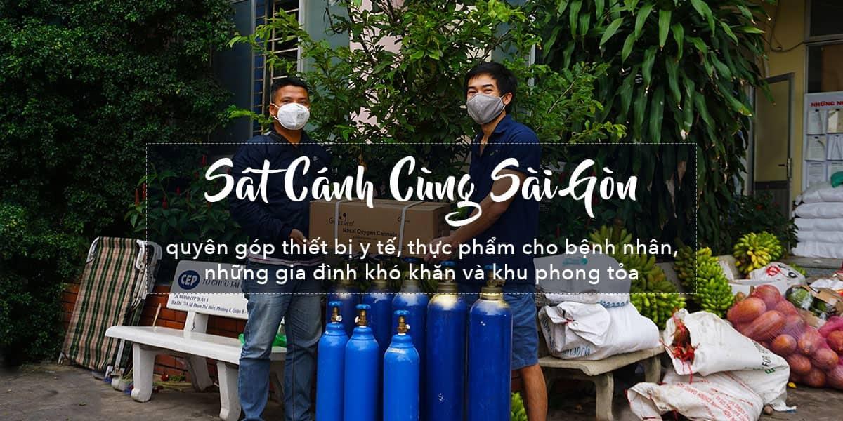 Sat Canh Cung Saigon - Mike - quyen gop thiet bi y te
