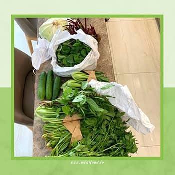 Fresh vegetable, well packaging. Love it!